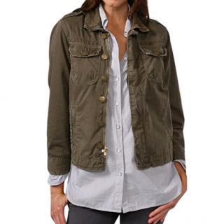 Current Elliott Khaki Soldier Jacket