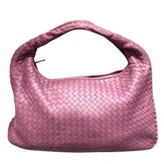 Bottega Veneta Intrecciato Leather Lilac Hobo Bag