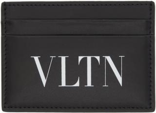 Valentino Black Logo Cardholder