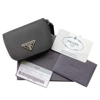 Prada Small Black Nylon Coin Purse