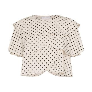 Rejina Pyo Polka Dot Layered Top