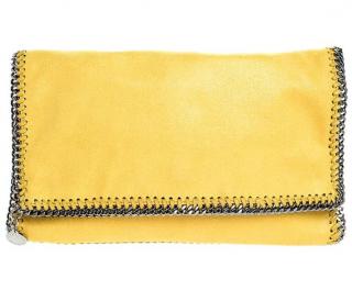 Stella McCartney Yellow Falabella Fold Over Clutch