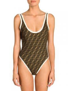 Fendi Reversible Monogram Swimsuit