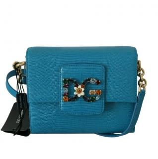 Dolce & Gabbana Blue Millenials Mini Bag