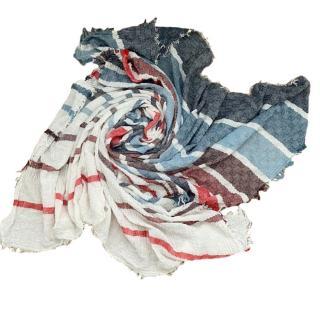 Gucci Mitiar Cotton Multi-Colour Scarf