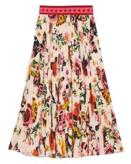 Gucci Capsule Collection Garden Print Skirt