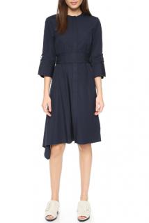 3.1 Phillip Lim Navy Asymmetric Dress
