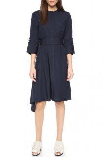 3.1 Phillip Lim Navy Asymmetric Dress