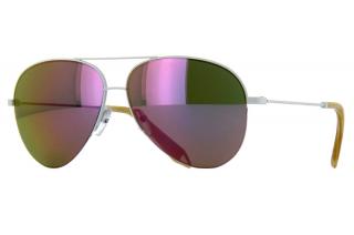Victoria Beckham  Mirrored Aviator Malibu Sunglasses