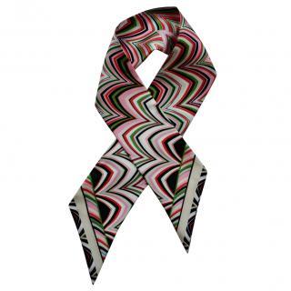 Missoni Silk Geometric Print Silk Scarf