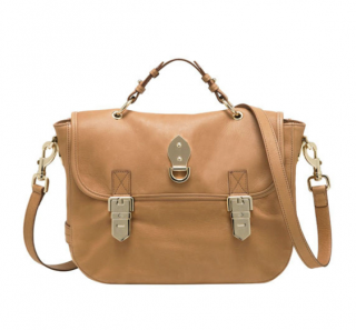 Mulberry Deer Brown Tillie Satchel