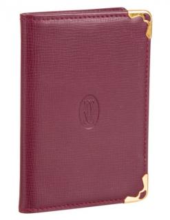 Cartier Must de Cartier Leather Notepad