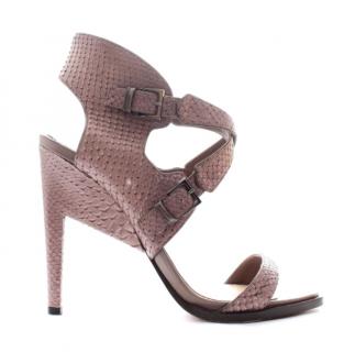 Nicholas Kirkwood Snakeskin Sandals