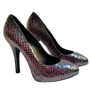 Dolce & Gabbana Python Degrade Pumps
