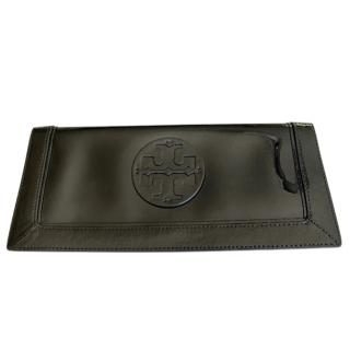 Tory Burch Black Patent Leather Wallet