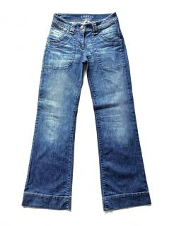 Sandro Blue Wide Leg Jeans