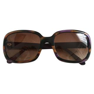 Ermanno Scervino Square Large Sunglasses