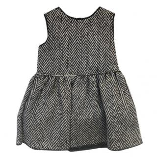 Dolce & Gabbana Chevron Knit Baby Dress