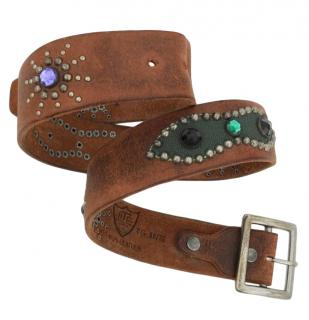 Hollywood Trading Company Crystal Embellished Belt