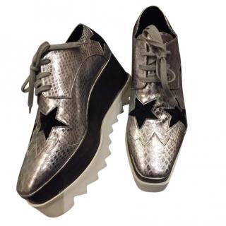 Stella McCartney platform wedge loafers
