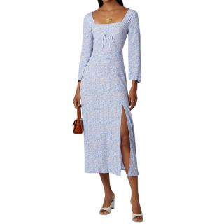 Rixo floral patterned long sleeved dress - current season