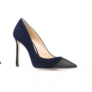 Jimmy Choo navy blue Romy Pumps