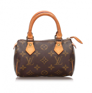 Louis Vuitton Monogram Mini Speedy Bag