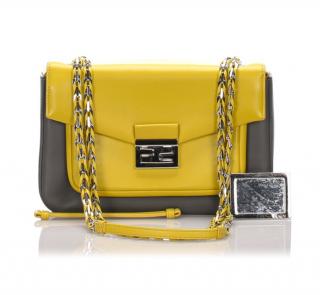 Fendi Leather Be Baguette Shoulder Bag
