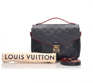 Louis Vuitton Monogram Empreinte Pochette Metis