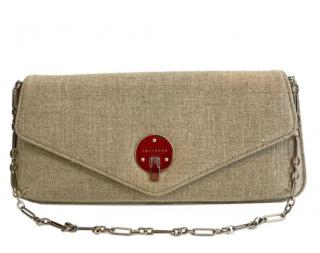 Smythson Hessian Wallet On Chain