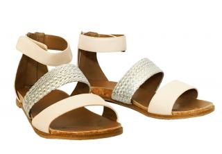 Ugg junior faux leather flat sandals