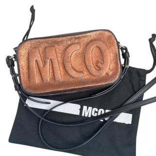 McQ by Alexander McQueen Bronze Crossbody Bag