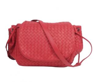 Bottega Venetta Intrecciato Leather Crossbody Bag