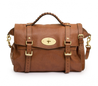 Mulberry Brown Leather Alexa Bag