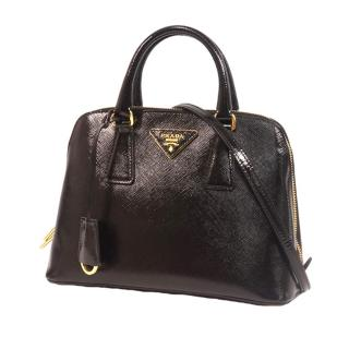 Prada Small Saffiano Leather Lux Promenade Satchel