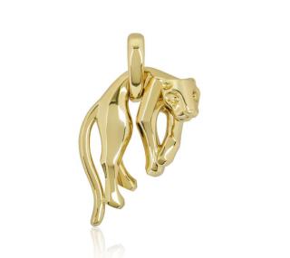 Cartier Hanging Panther Pendant