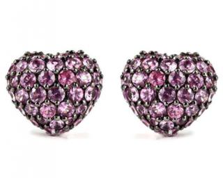 Chopard 18k Sapphire Earrings