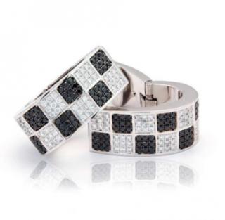 Chopard 18k White Gold Diamond Earrings