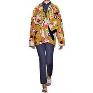 Ostwald Helgason printed cotton parka jacket