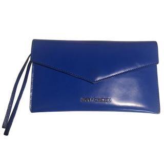 Jimmy Choo Blue Leather Wallet