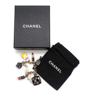 Chanel Rare CC Cosmetics Charm Bracelet