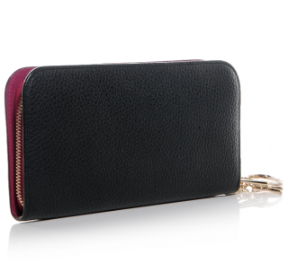Dior Calf Leather Diorissimo Voyageur Wallet