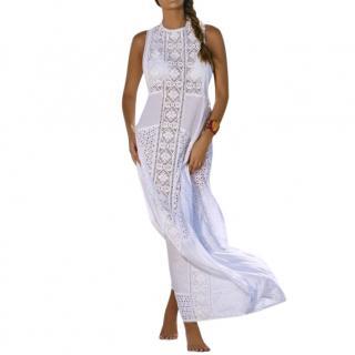Pily Q Crochet Racer Back Wren Maxi Beach Dress