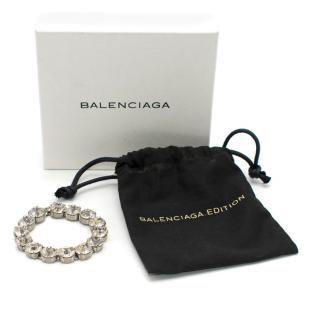 Balenciaga Round Crystal Bracelet
