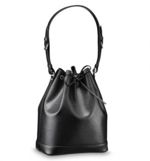 Louis Vuitton Black Epi Leather Noe Bucket Bag