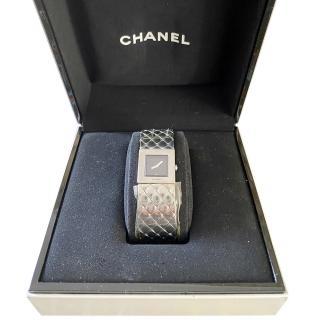Chanel Matelasse Stainless Steel Dress Watch