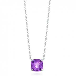 Tiffany & Co. Sparklers amethyst pendant in sterling silver