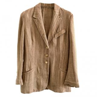 Ralph Lauren Linen Tailored Jacket