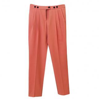 Moschino Cheap & Chic Pink Straight Leg Pants