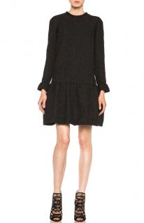 Chloe Dahlia Jacquard Silk-Blend Dress